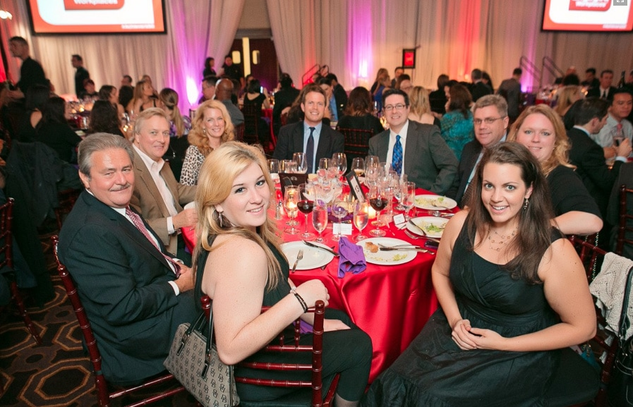 Valerie Uhlir at the 50 Most Engaged Workplaces in America awards