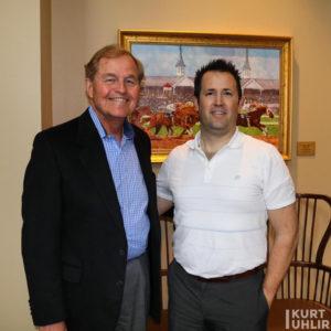 CEO and Founder of FedEx Ground Dan Sullivan with Technology Expert Kurt Uhlir
