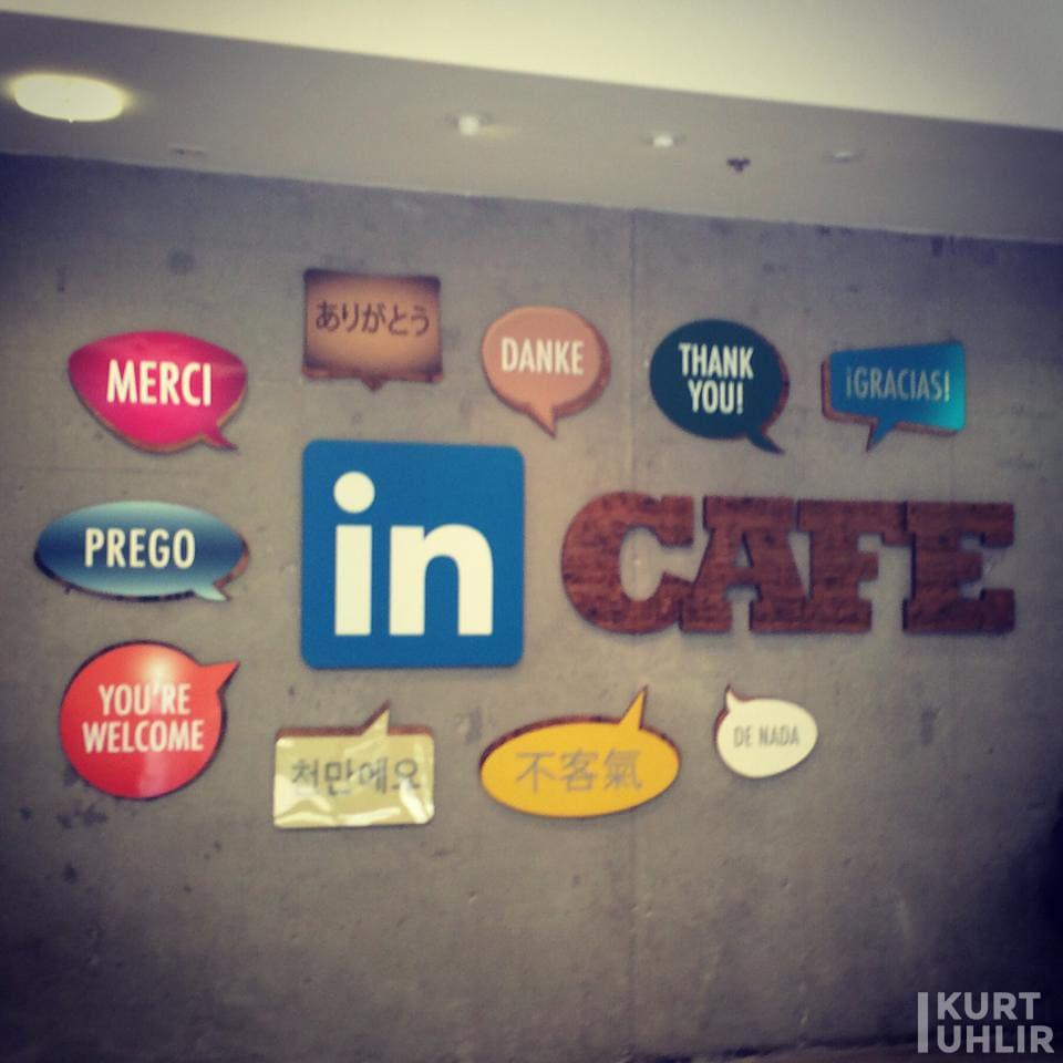 Cafe at LinkedIn's Headquarters