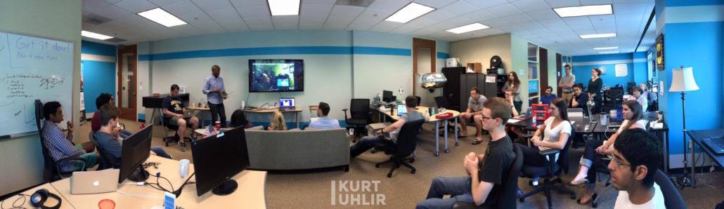 Kurt Uhlir - Our team meeting every Friday (Sideqik Assemble) - 2015