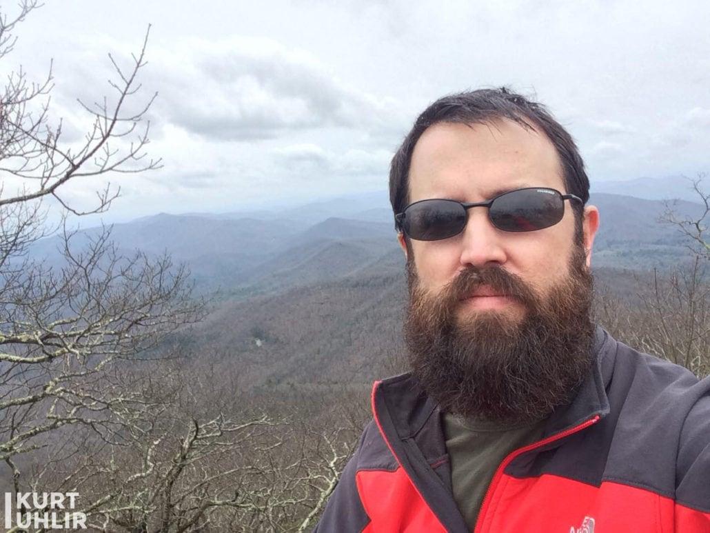 Kurt Uhlir - Top of Blood Mountain on the Appalachian Trail