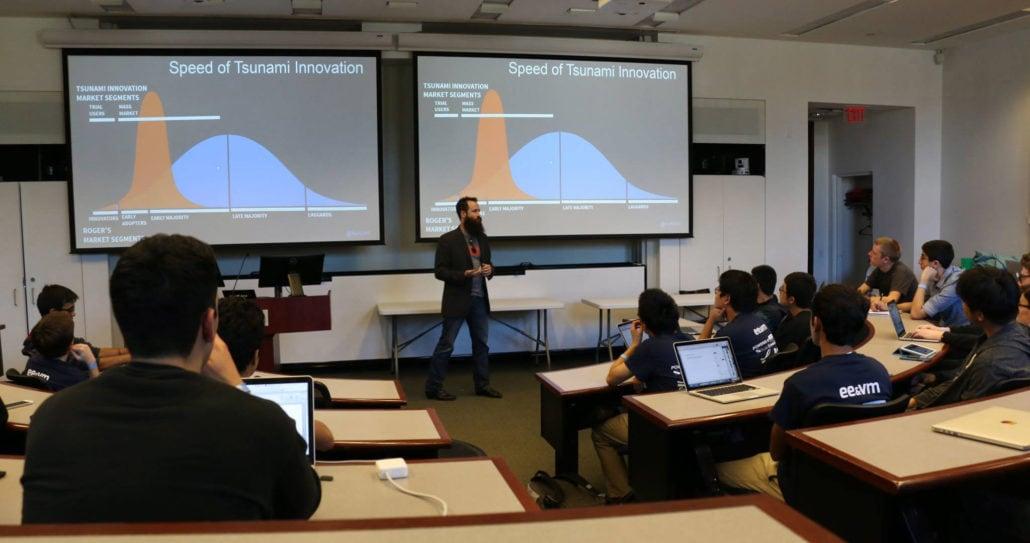 Kurt Uhlir at Emory University Goizueta Business School for Hack