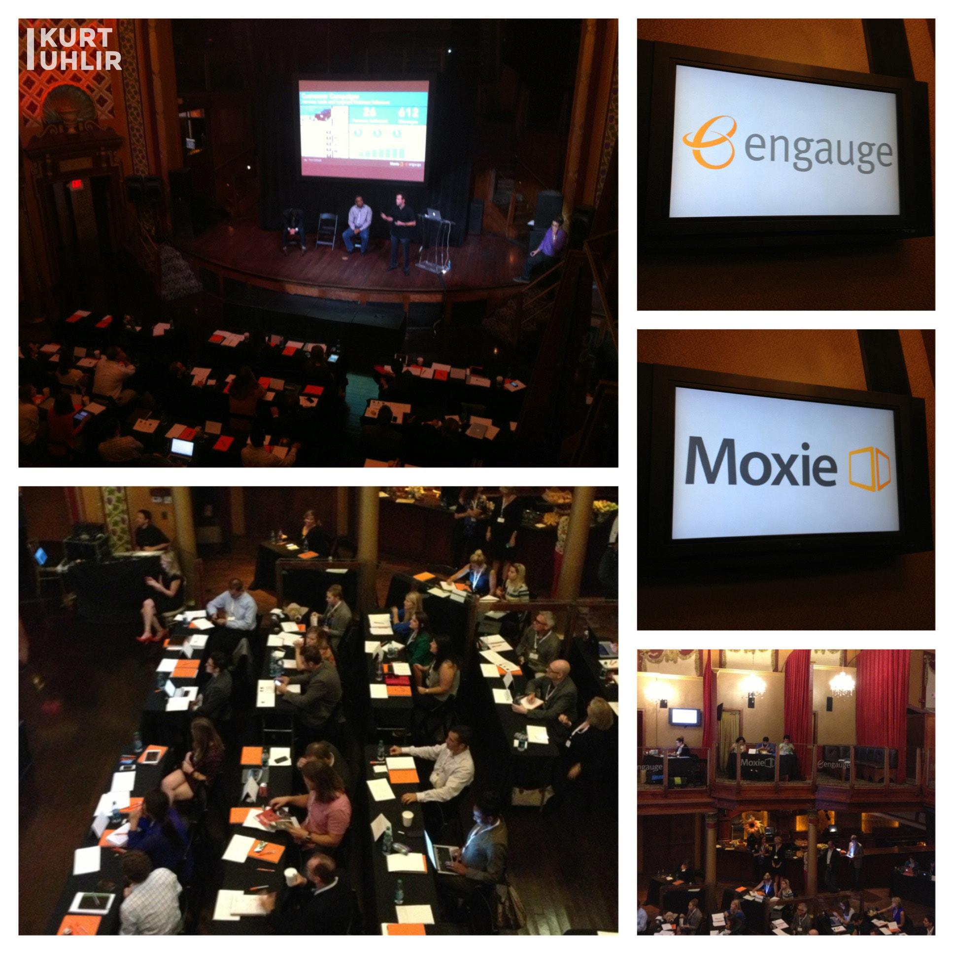 Kurt Uhlir presenting at Moxie Engauge DIG Day 2013 on Influencer Marketing