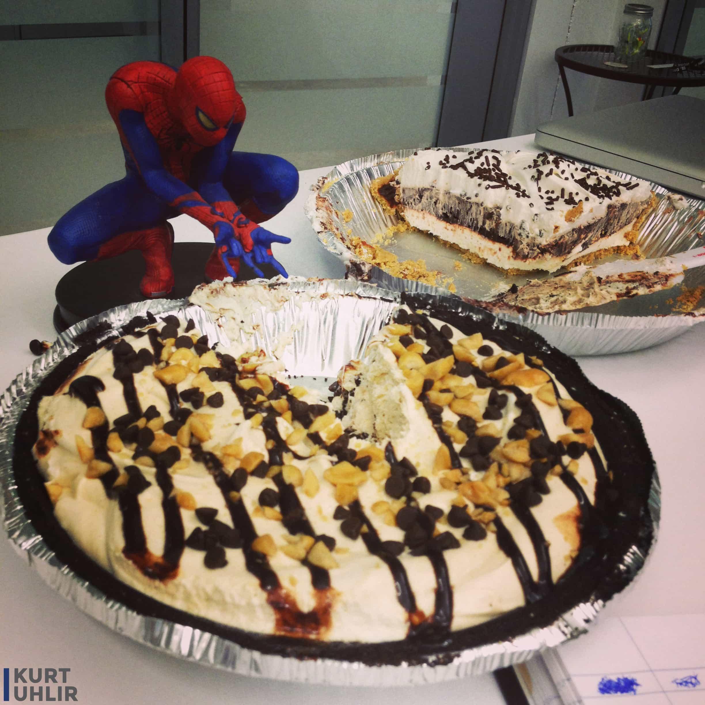 We love food and superheroes.
