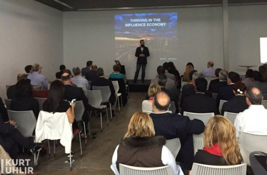 Kurt Uhlir speaking on Thriving in the Influence Economy