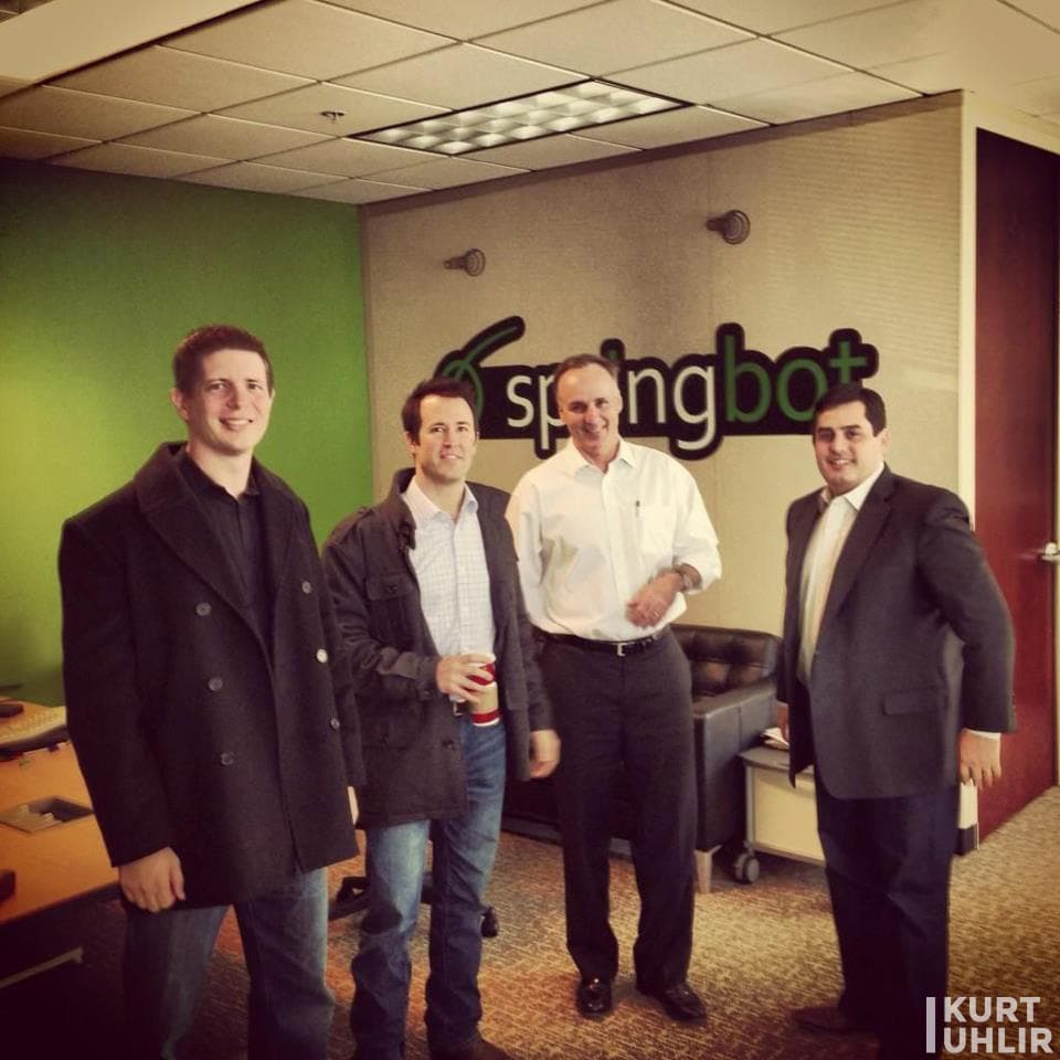 Mini Flashpoint reunion - Sideqik and Springbot - Jeremy, Kurt Uhlir, Dave Armento, and Brooks Robinson