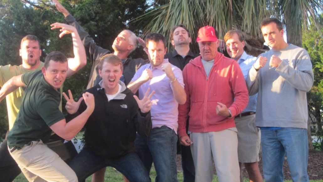 Regi's Radical Mentoring Group - Regi Campbell, Kurt Uhlir, John Field, Kyle Cochran, Ben Walker, Eric Corona, Alex Helman, Scott Schmerge, and Chad Fearnow