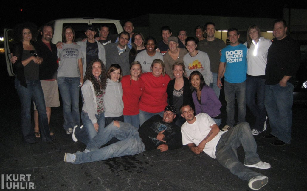 Serving with Bridges to Recovery - 2011