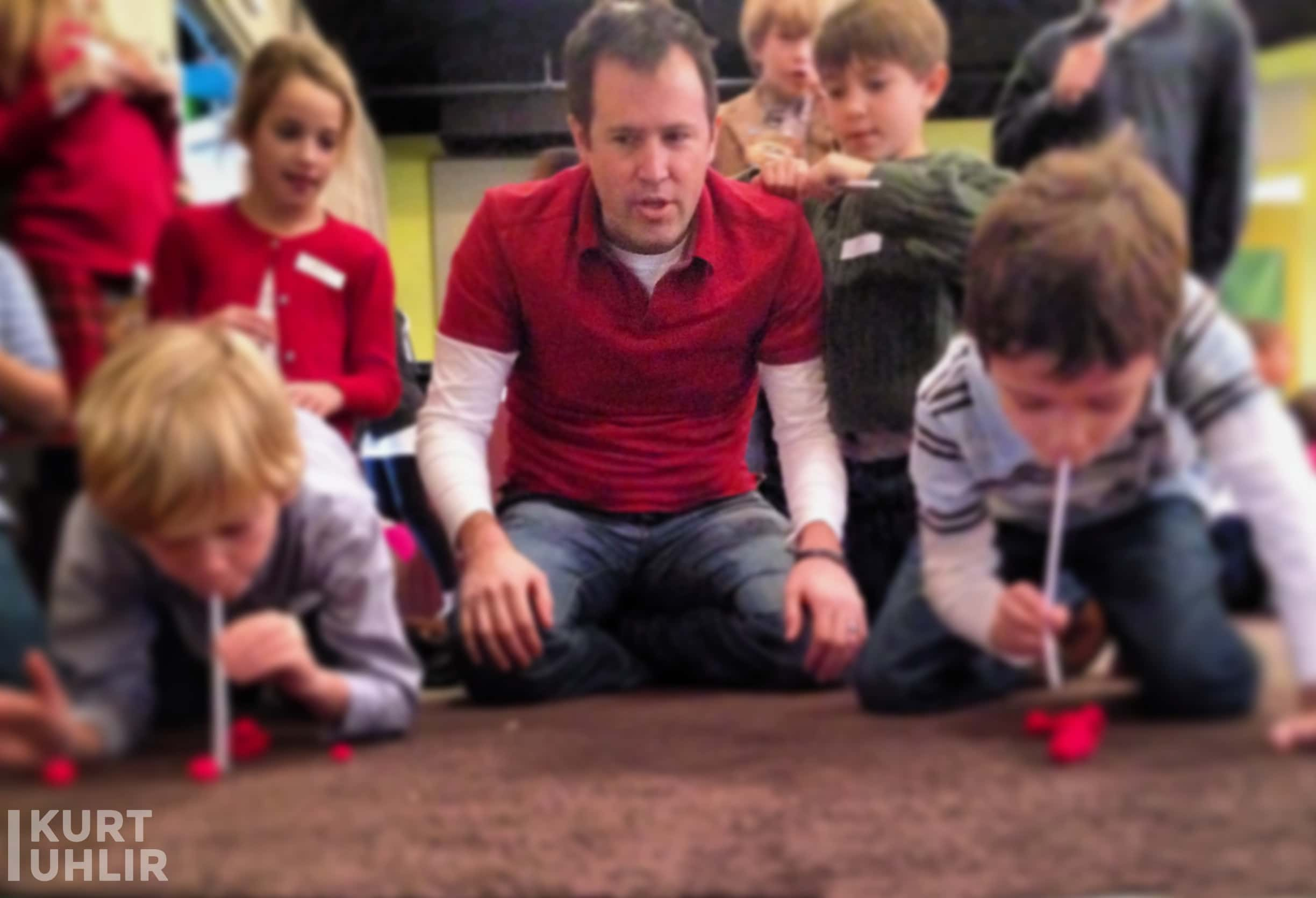 Serving with children at church - Kurt Uhlir