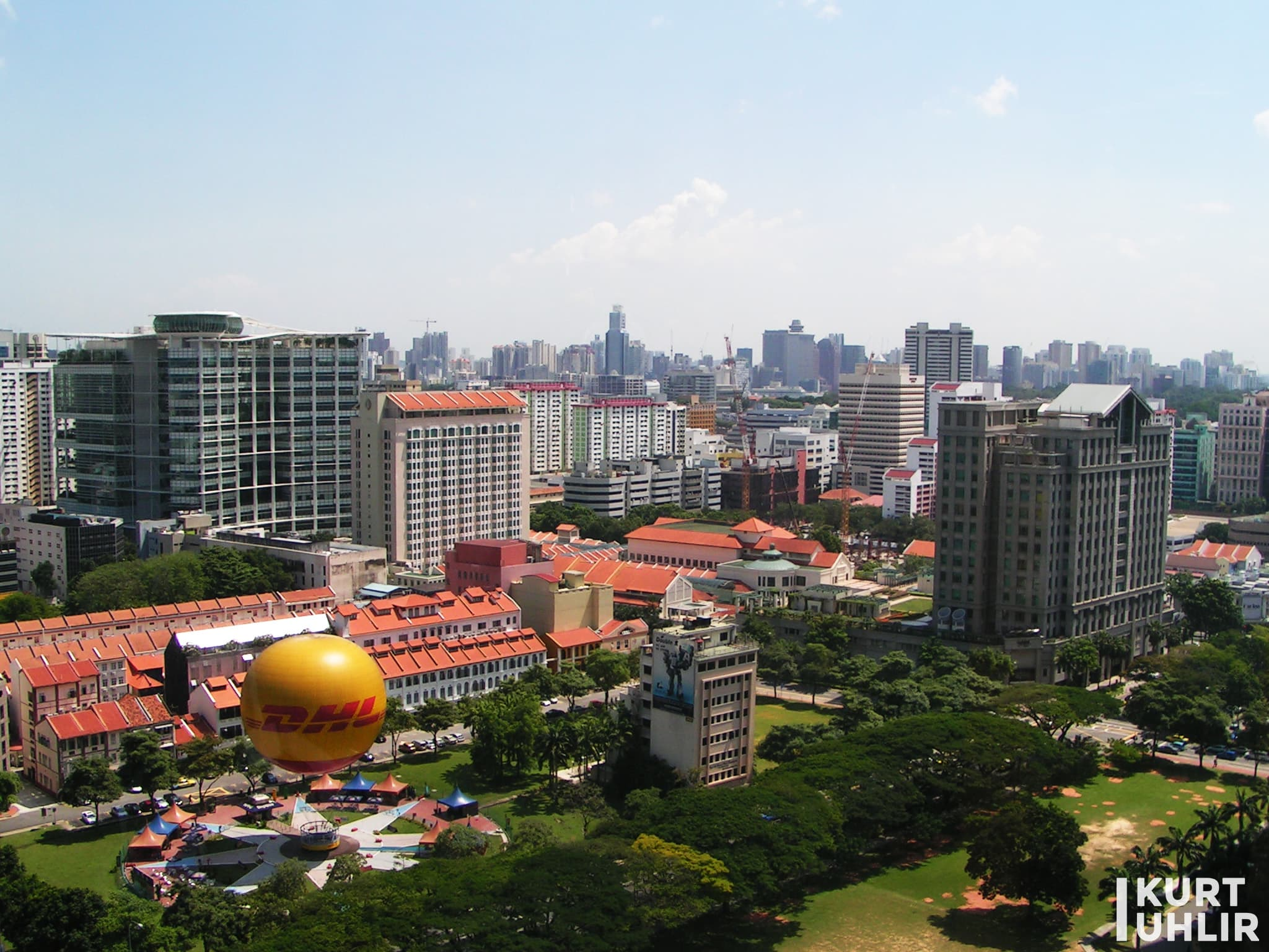 Singapore - view from our NAVTEQ office