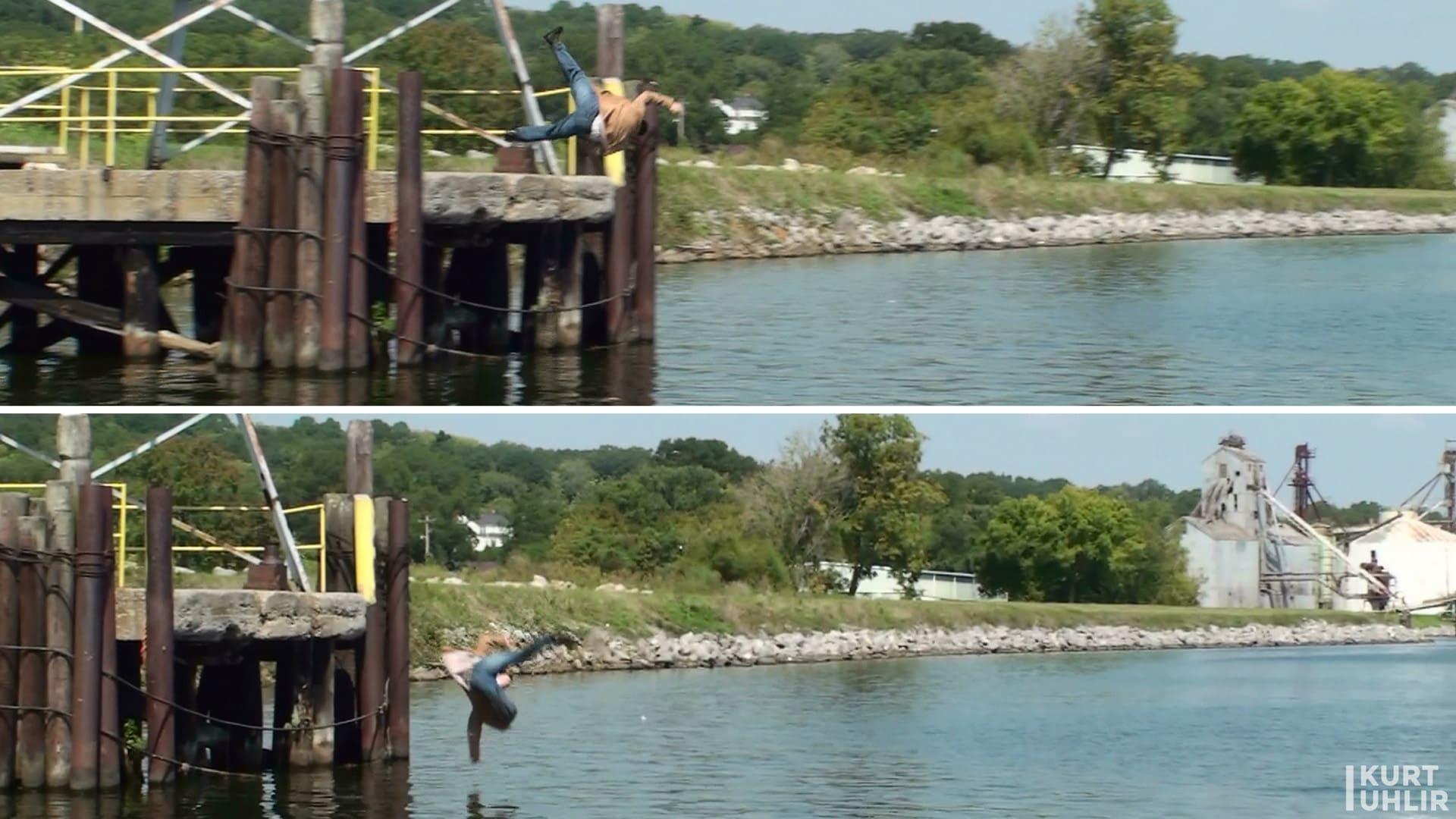 Stuntman Kurt Uhlir thrown off platform