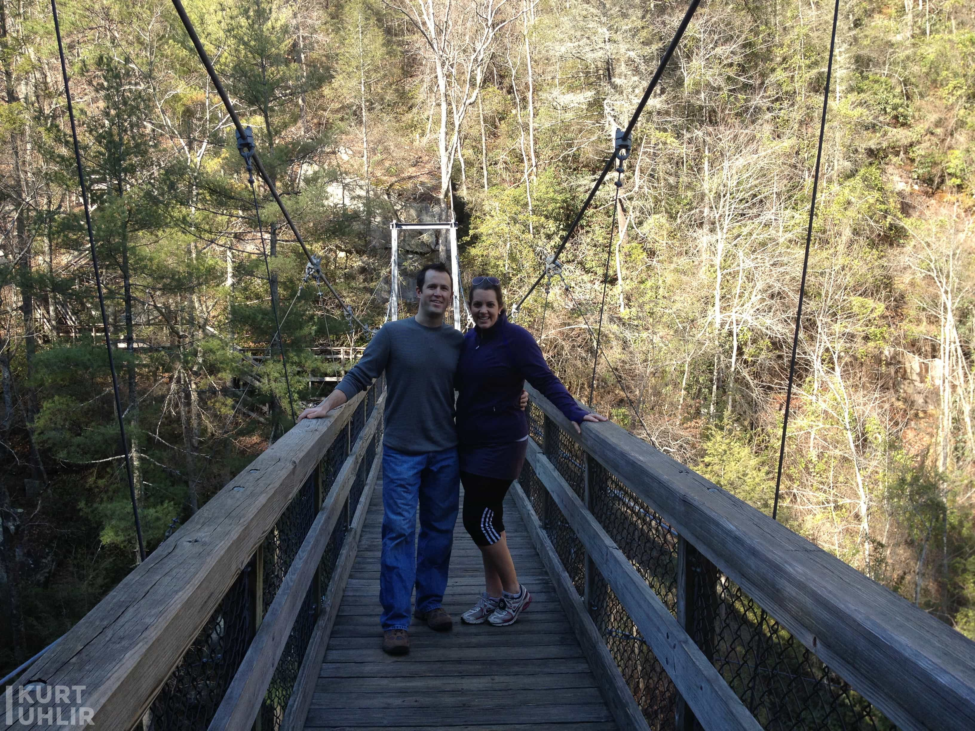 Tallulah Gorge State Park - Valerie and Kurt Uhlir
