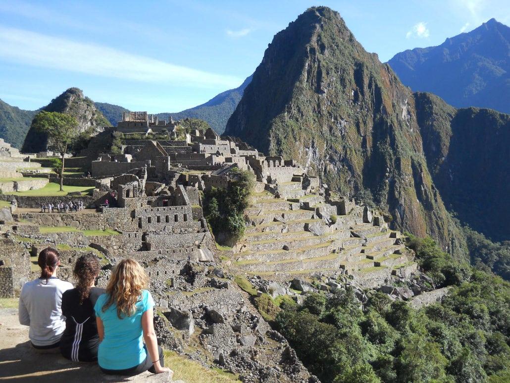 Valerie Uhlir at Machu Picchu Ruins in Peru