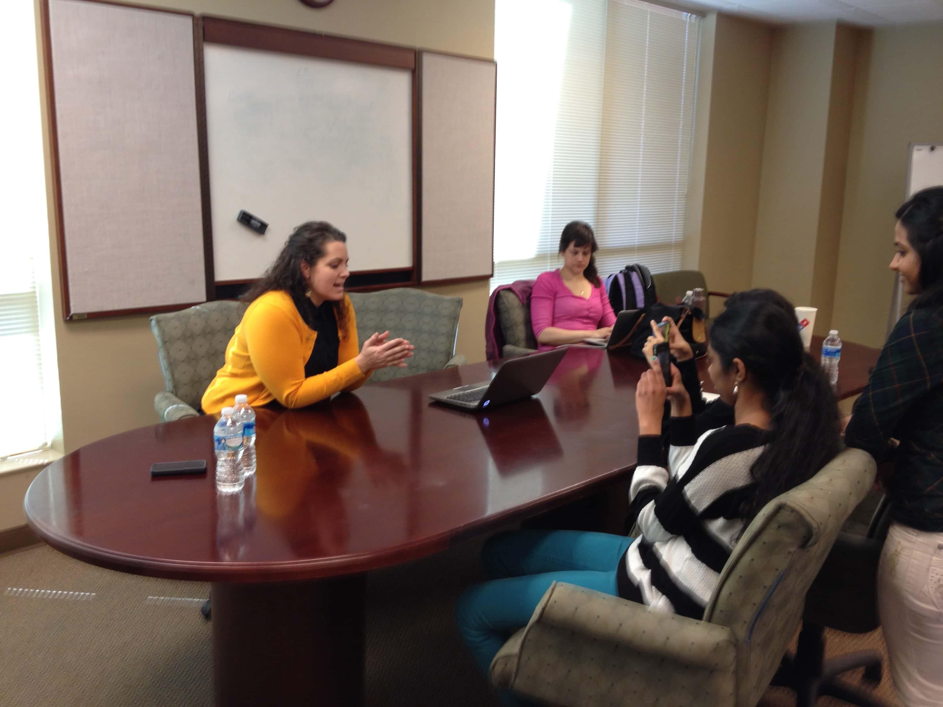 Valerie Uhlir - mentoring at TYE Atlanta Program - TiE Young Entrepreneurs - TiE Atlanta