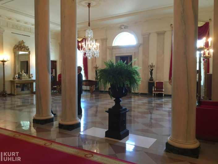 Entrance Hall at The White House