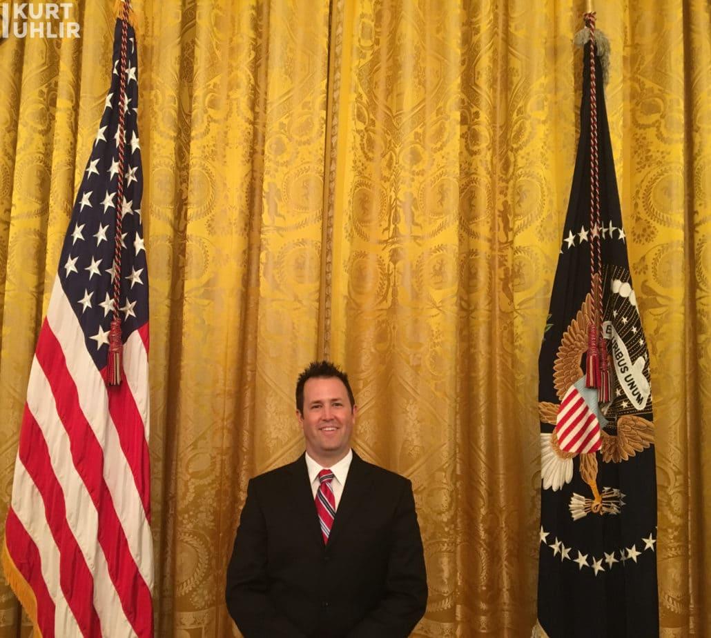 Kurt Uhlir in White House Residence East Room