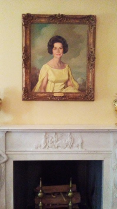 Misc White House Photos - First Lady Lady Bird Johnson