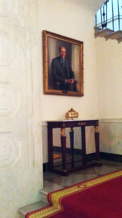 Misc White House Photos - President Gerald Ford