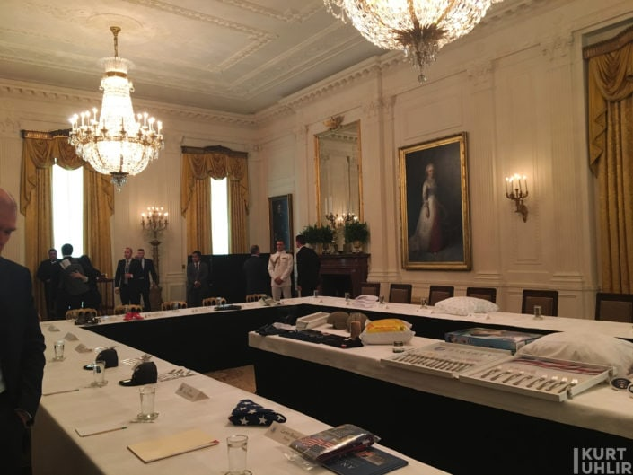White House Residence First Floor - East Room - Made in America Roundtable